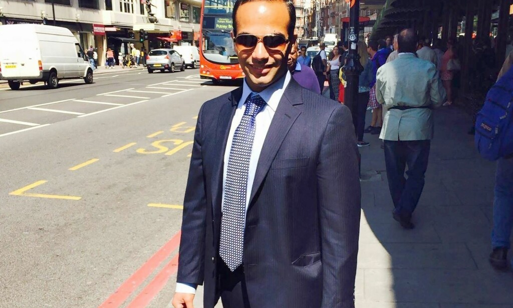 LONDON-BASERT: George Papadopoulos hadde en rolle som utenriksrådgiver for Donald Trump da han var presidentkandidat. Foto: AFP PHOTO / NTB Scanpix
