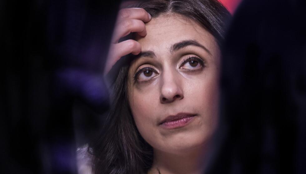 Ap-nestleder Hadia Tajik. Foto: Hans Arne Vedlog/ Dagbladet
