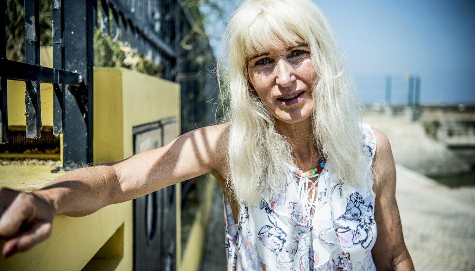 - LEIT: Bjørg Eva Jensen (57) måtte forlate konkurransen, etter at hun tapte for Rolf Falk-Larssen i kveld. Selv hadde 57-åringen et håp om å få vist mer av hva hun kan. Foto: Thomas Rasmus Skaug / Dagbladet