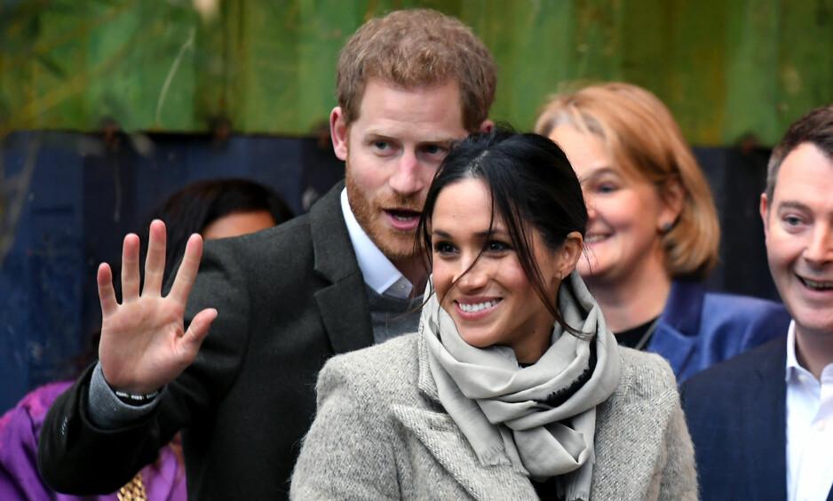 KONGEFAMILIEN ÅPNER LOMMEBOKA: Nye detaljer rundt prins Harry og Meghan Markles bryllupsdag er blitt avslørt, og det er kongefamilien selv som punger ut for begivenheten. Foto: AP/ NTB scanpix