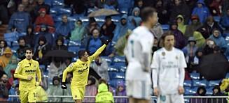 Real Madrid-fansen pep etter hjemmefiasko