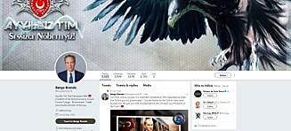 Børge Brendes Twitter-konto er hacket