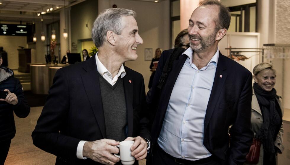 BRENTE BROER: Trond Giske går til motangrep mot Jonas Gahr Støre og Ap-ledelsen gjennom sine advokater. Foto: Lars Eivind Bones / Dagbladet