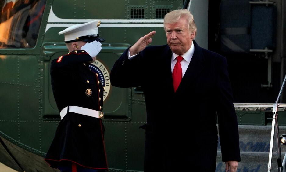 HEI, DAVOS?: USAs president Donald Trump er varslet å ankomme årets World Economic Forum torsdag denne uka. Foto: NTB Scanpix