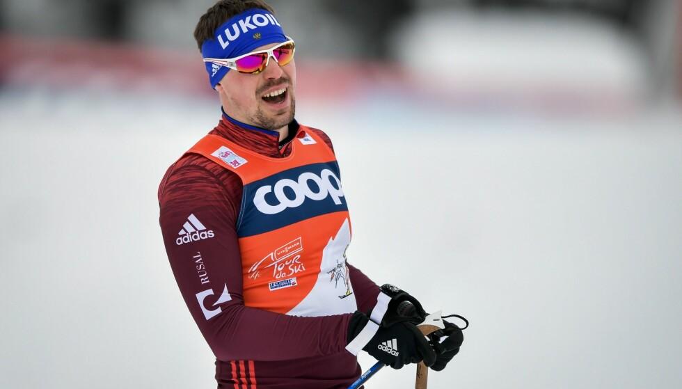 I TRØBBEL: Sergej Ustjugov er ikke på lista over rene russere. Det er dermed høyst usikkert om han får gå i OL. Foto: AFP PHOTO / Fabrice COFFRINI