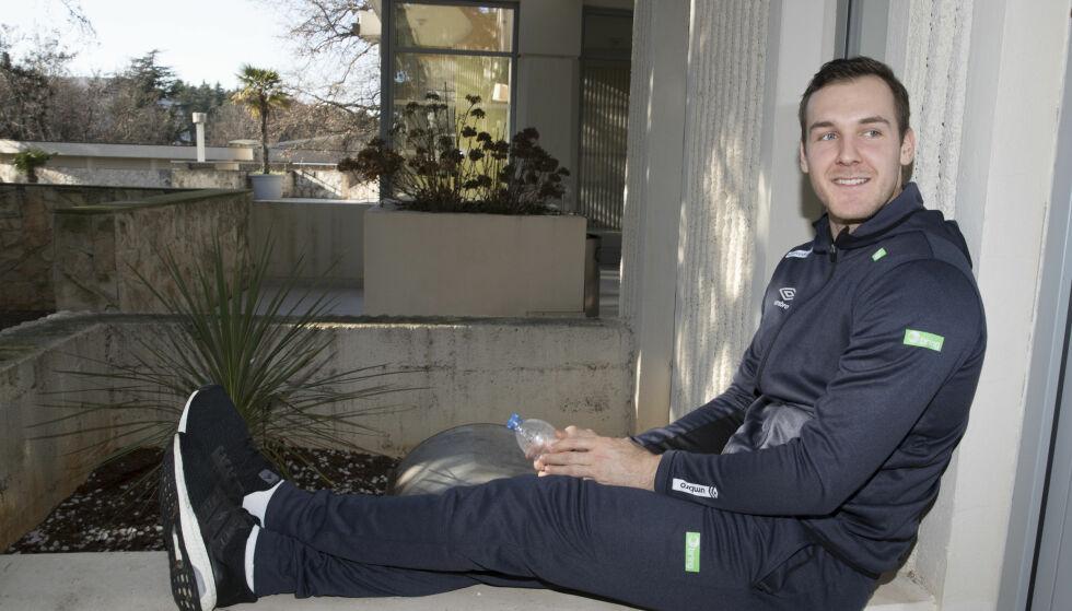EM-PROFIL: Christian O'Sullivan er kaptein i tyske Magdeburg etter to år i svensk håndball. I kveld må han slå svenske venner med minst fem mål.  Foto: Vidar Ruud / NTB scanpix