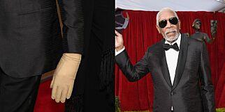 image: Morgan Freemans subtile hanske avslører alvorlig lidelse