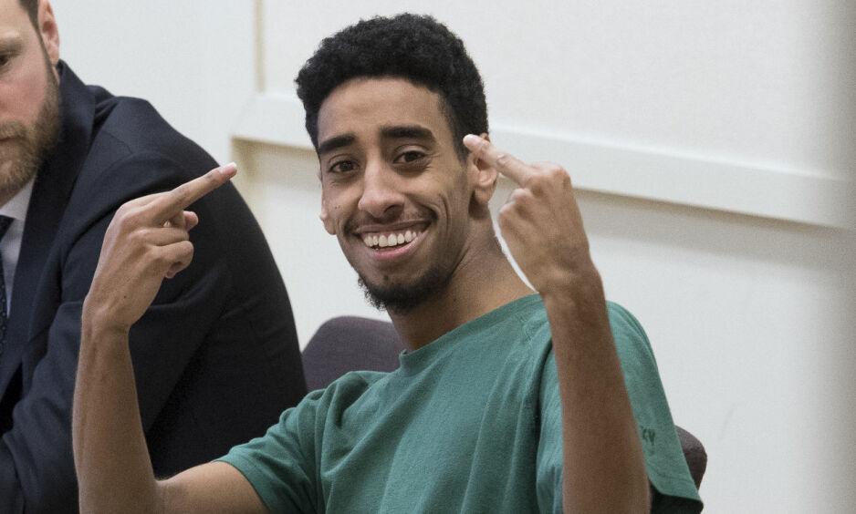 DØMT: 22 år gamle Fouad Saleh er dømt til livstid i fengsel etter å ha drept tre personer i januar og mars i fjor. Foto: Sven Lindwall / Expressen