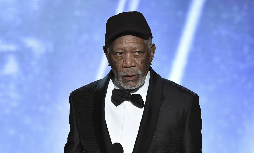 BEKLAGER: Skuespiller Morgan Freeman har nå beklaget seg etter flere anklager om upassende oppførsel. Foto: NTB Scanpix