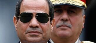 Egypts nye farao avholder presidentvalg uten motstandere