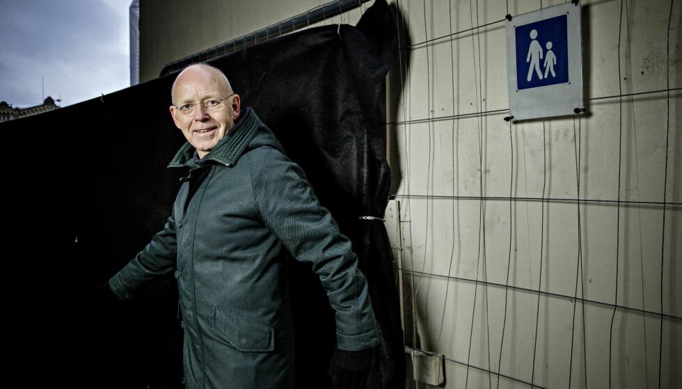 ER RASTLØS: Trond-Viggo Torgersen går mye rundt for å holde kroppen i gang, både fordi han er rastløs og fordi det er bra for helsa.  Foto: Nina Hansen