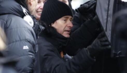 <strong>REGI:</strong> Jonas Åkerlund på sett i Oslo under innspilling i november 2016. Foto Jacques Hvistendahl / Dagbladet