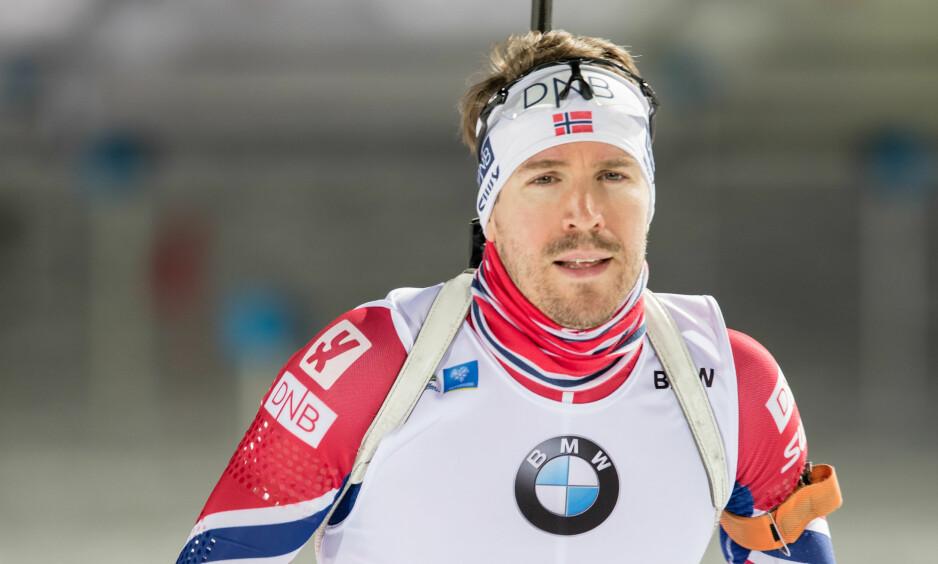 HAR LÆRT: Emil Hegle Svendsen har tatt lærdom av stafettsmellen i Sotsji-OL i 2014. Foto: Tobias Nykänen / Bildbyrån