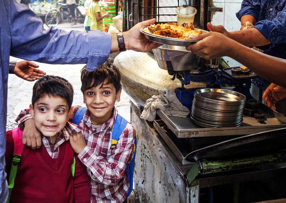 MAGESJUKE: Delhi Belly kalles den største trusselen i New Delhi. Ganske enkelt, du blir dårlig i magen av maten du spiser. Skikkelig dårlig. Foto: Mette Randem