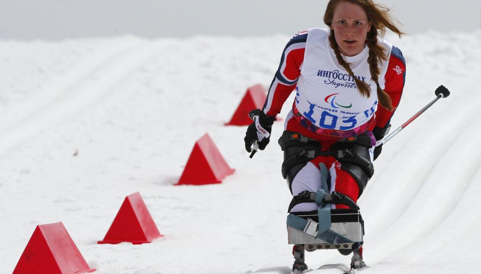 OVERTAR STYRINGEN: Birgit Skarstein fikk det ikke helt til i Paralympics i vinter. Nå er hun foreslått som nytt medlem i styret i Norges Skiforbund uansett hva som skjer med vintersatsingen for den suksessrike norske roeren. FOTO:AP/Dmitry Lovetsky)