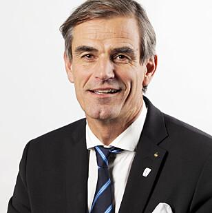 FORT: Prosessen har gått litt raskt, men vi hadde ikke noe valg, sier ordfører Bjørn Ole Gleditsch. Foto: Eric Johannessen