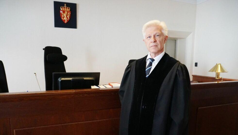 BRUDD: Sorenskriver Bjørn Haaland har ved flere tilfeller brutt god dommerskikk, slår Tilsynsutvalget for dommere fast. Foto: NRK