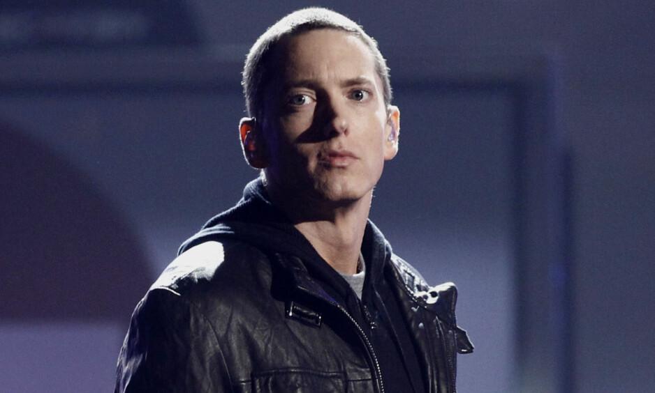 SKANDALØS: Rapperen Eminem har hatt en legendatisk karriere, men veien dit har ikke alltid vært like lett. Foto: NTB scanpix