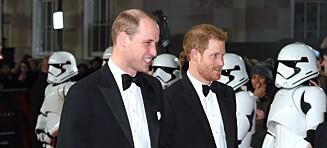 Prins William og prins Harry ble kuttet fra siste «Star Wars»