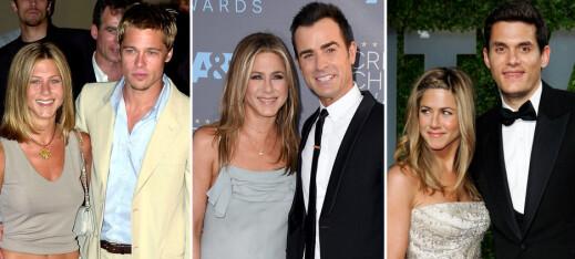 Jennifer Anistons ulykkelige kjærlighetsliv