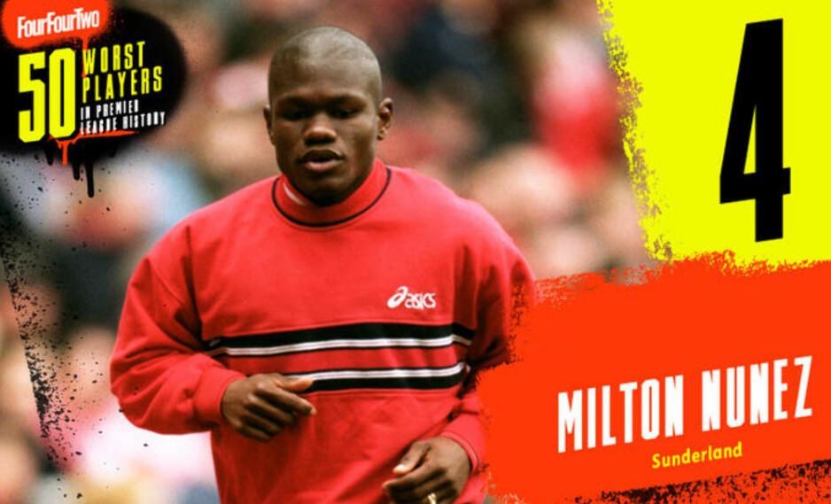Myten om Milton Nuñez, som fikk én fattig Premier League-kamp. Hva var det egentlig som skjedde?