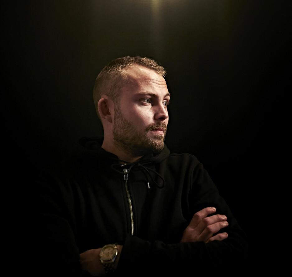 Revansje: Christian Juuhl (29) ble selv utsatt for overgrep i barndommen. I dag bruker han hvert ledige minutt på å jakte pedofile på nett.