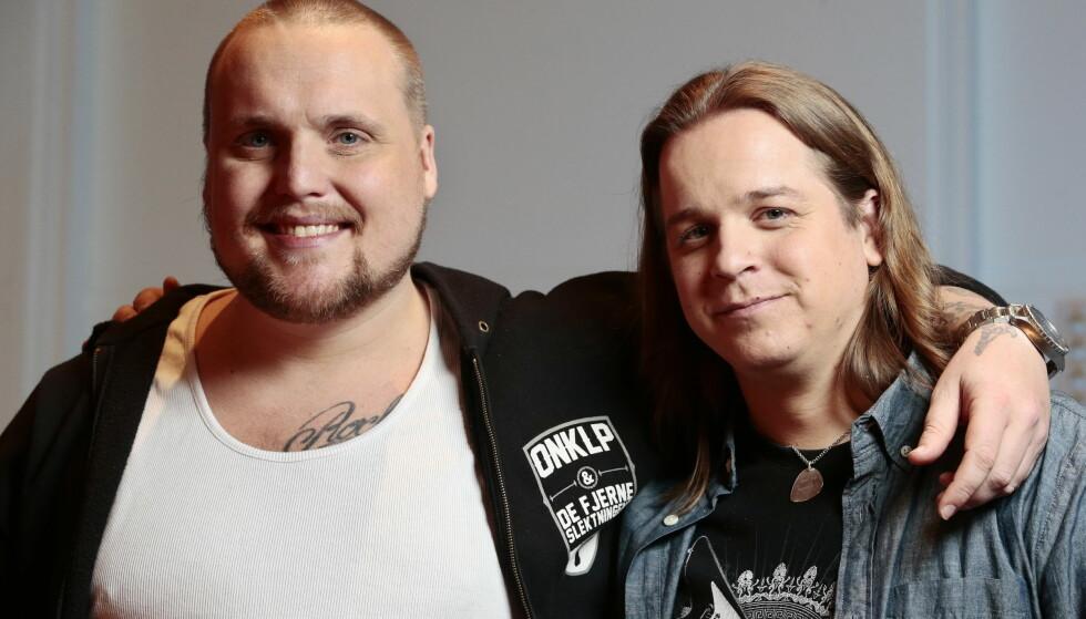 Duo: Stian Thorbjørnsen og Lasse Jensen utgjør Staysman & Lass. Foto: NTB scanpix