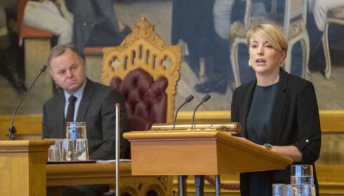 KRITISK: Kari Elisabeth Kaski i SV vil vite hva 500 millioner kroner faktisk er gått til. Foto: Vidar Ruud / NTB scanpix