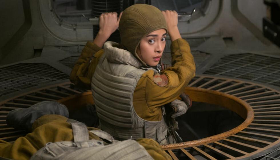 STAR WARS: Veronica Ngo har en liten, men viktig rolle i «Star Wars- The Last Jedi». Hennes rolle endrer forløpet på historien. Foto: Disney