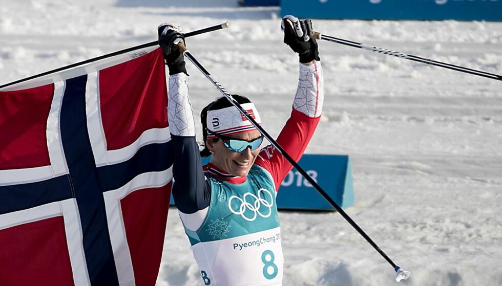 FORSVARTE HELDIGVIS ALT: Marit Bjørgen beskyttet skimiljøett sitt gjennom harde år for norsk langrenn. Nå etterpå er det lett å se at hun hadde rett. Men hvorfor er ingen av kritikerne rause og ærlige nok til å si unnskyld? FOTO:Bjørn Langsem / Dagbladet.