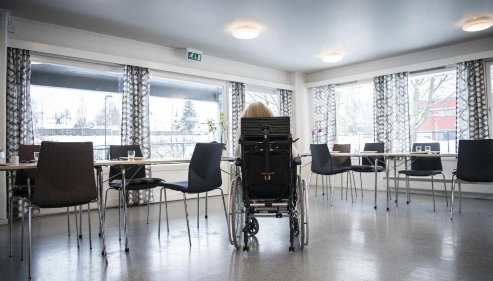 Høyt fravær: Torsdag viste en SSB-rapport at Norge vil mangle 28 000 sykepleiere i 2035. Nå viser ny undersøkelse at det er store forskjeller mellom planlagt og faktisk bemanning på Oslo-sykehjemmene. - Vi er midt inne i en krise, sier Oslo-byråd. Foto: Lars Eivind Bones / Dagbladet