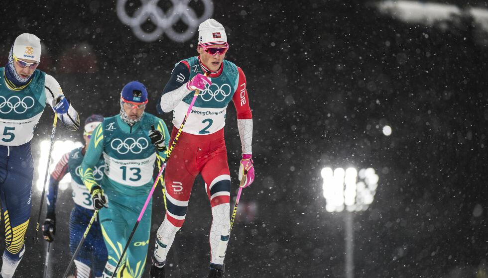 FAVORITT: Før de tre siste konkurransehelgene leder Johannes Høsflot Klæbo verdenscupen sammenlagt. Foto: Hans Arne Vedlog / Dagbladet