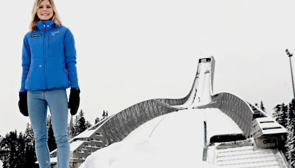 SIKTER MOT VERDENSCUPSEIER: Maren Lundbys er glad for eksponeringen hun fikk i forbindelse med OL-gullet. Nå håper hun å ta hjem sammenlagtseieren i verdenscupen. Foto: Nicholai Delebekk/Dagbladet