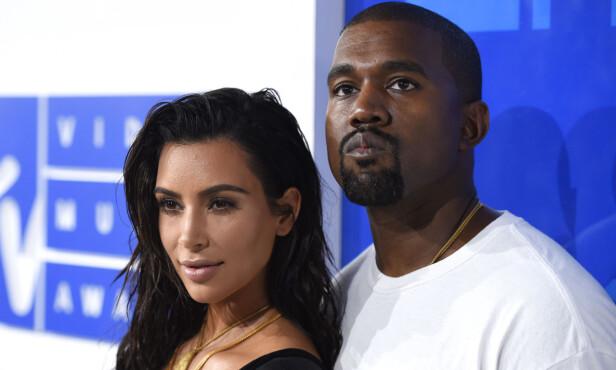<strong>STJERNEPAR:</strong> Kim Kardashian og Kanye West giftet seg i 2014, og i dag har de tre barn sammen. Foto: NTB scanpix