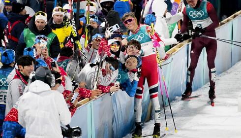 BILDET AV NORGE: Suksessen i vinter-OL har gjort at utlendingene vil lære av Johannes Høsflot Klæbo og norsk idrett. FOTO: Bjørn Langsem/DagbladetS