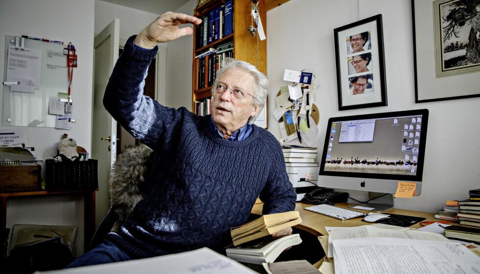 NY BOK: Christian Borch kommer med bok om familiens ukjente fortid. Foto: Nina Hansen / Dagbladet