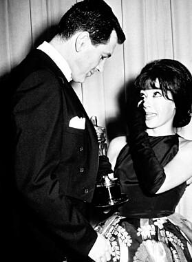 FØR: Rita Moreno under Oscar-utdelingen i 1962. Foto: NTB Scanpix