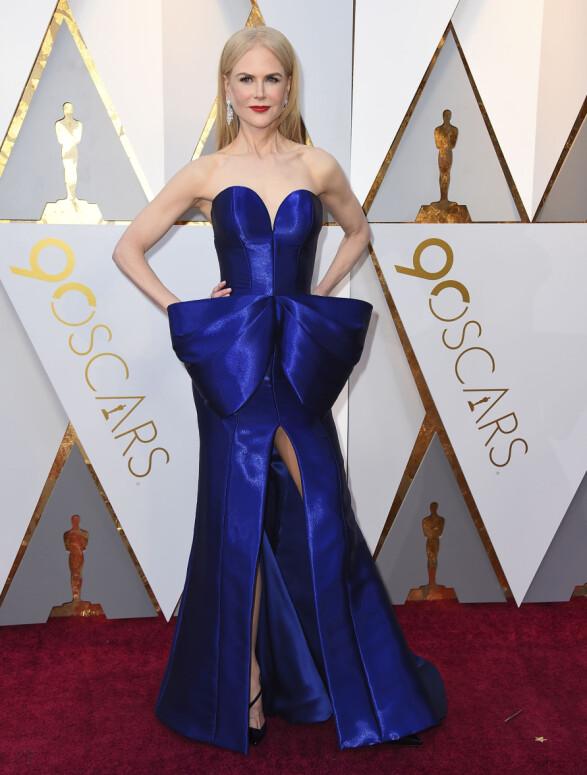 OSCAR-UTDELINGEN: Nicole Kidman. Foto: NTB Scanpix