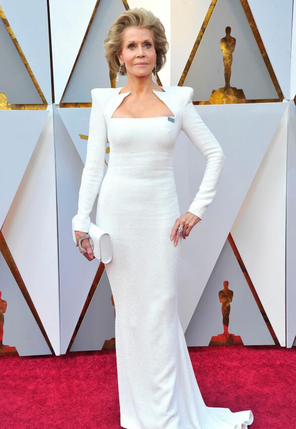 OSCAR-UTDELINGEN: Jane Fonda. Foto: NTB Scanpix