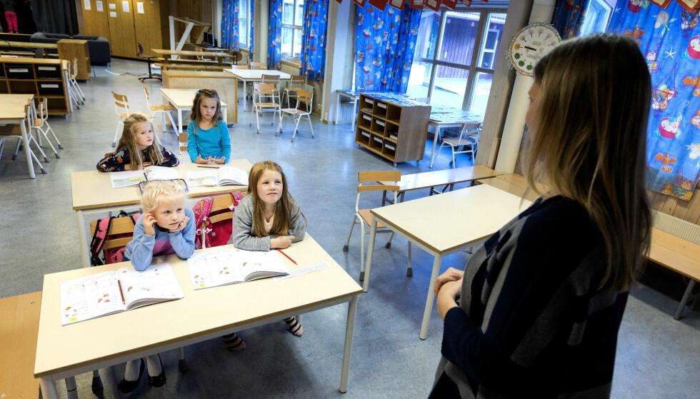 Ny reform: De rødgrønne krever tillitsreform i skolen. Foto: Gorm Kallestad / NTB scanpix
