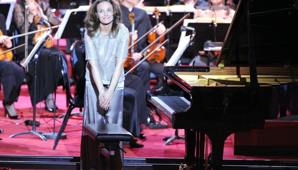 "Solist: Den franske pianisten Hélène Grimaud er solist med Göteborgs Symfoniker i Operaen til helgen. Her er hun ved ""17th Victoires de la Musique Classique ceremony"" i Montpellier i 2010. Foto: AFP PHOTO / PASCAL GUYOT"