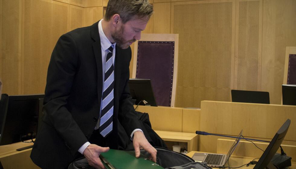 STATSADVOKAT: Andreas Schei er aktor i saken. Foto: Audun Hageskal