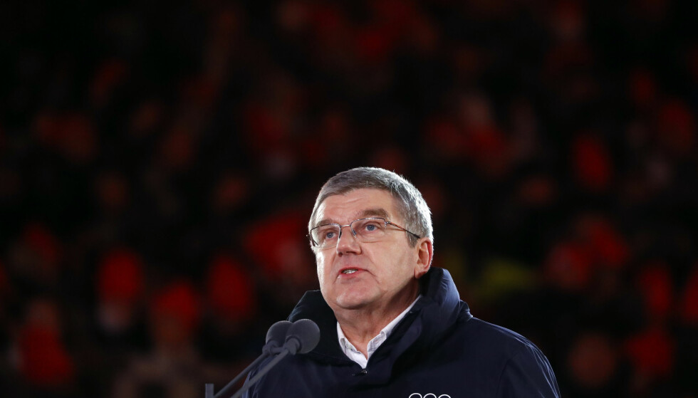 ANKER: IOC-president Thomas Bach faslo torsdag at IOC anker saken hvor 28 russiske utøverne ble frikjent av CAS(Idrettens Voldgiftsrett) før OL i Pyeongchang i vinter. REUTERS/Kai Pfaffenbach