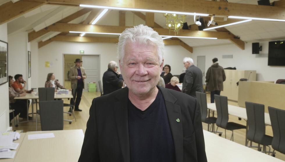 UHELDIG KJØRETUR: Rælingen- ordfører Øivind Sand (Ap) legger seg flat etter at han ble tatt i promillekjøring i fjor. Foto: Vidar Ruud / NTB scanpix
