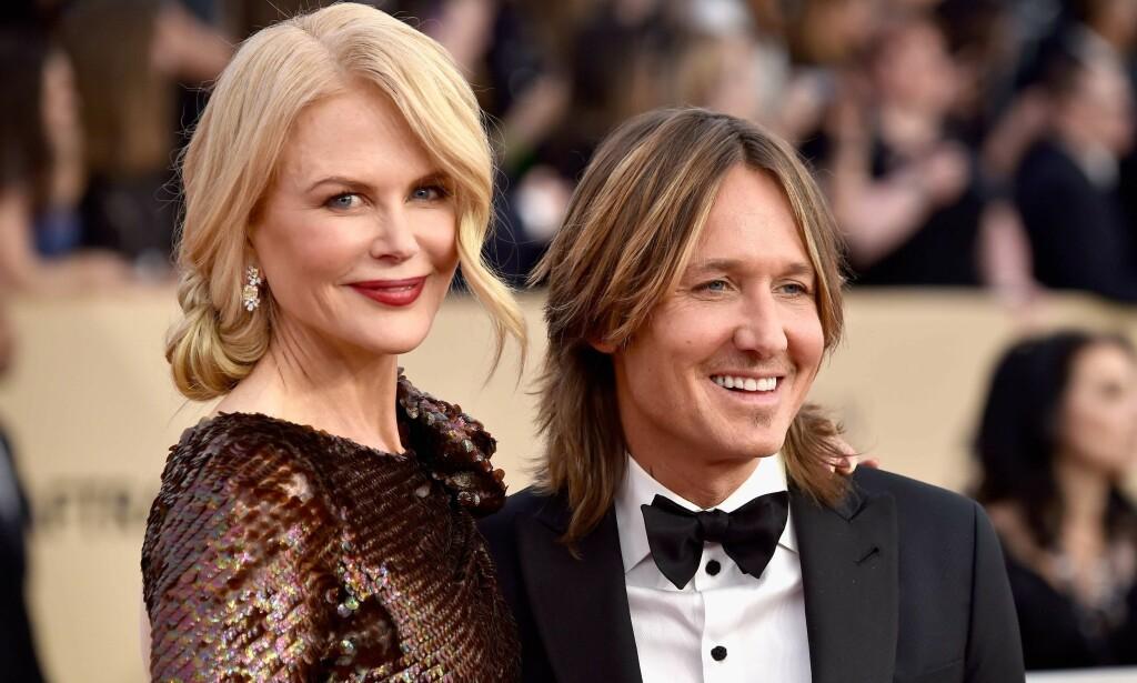 FIKK OPPFYLT BABYDRØMMEN: Stjerneparet Nicole Kidman og Keith Urban har vært gift siden 2006, og har to barn sammen. Foto: NTB scanpix