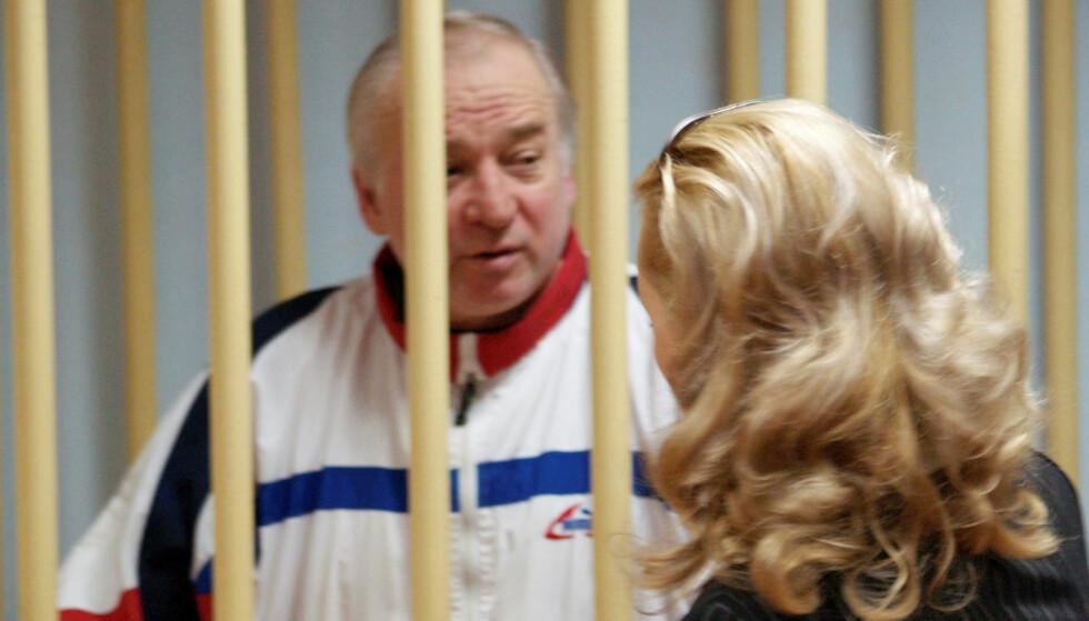 SPIONDØMT: Sergej Skripal ble funnet livløs sammen med datteren. Foto: Kommersant / Yuri Senatorov via REUTERS / NTB scanpix