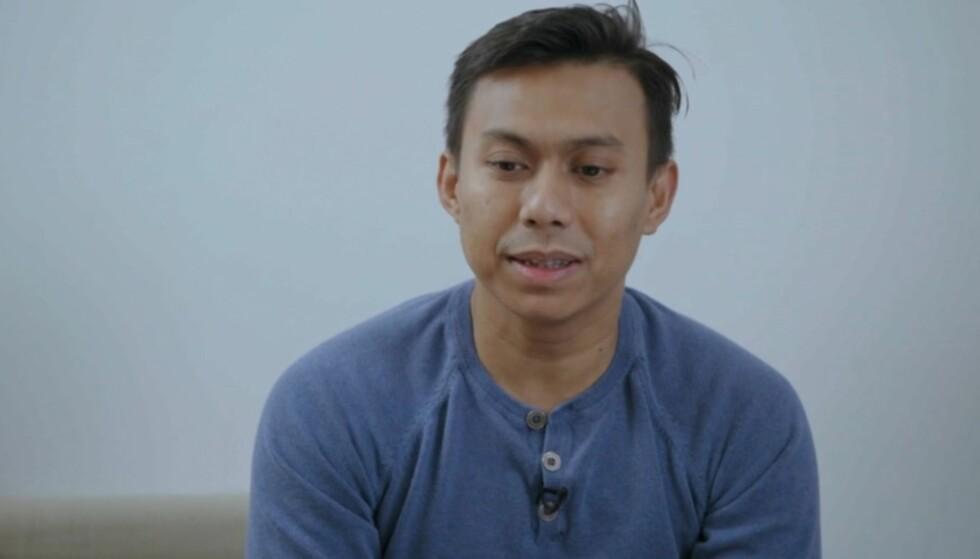STARTET BUTIKK: Tun Aung Kyaw startet butikk da det så mørkt ut på inntektsfronten, men ser nå i ettertid at butikken har ødelagt mye. Foto: TV3
