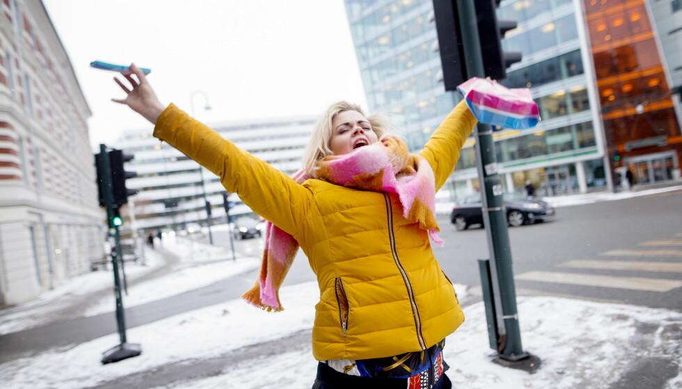 KLAR FOR MGP: Ida Maria Børli Sivertsen (33) er en av artistene som skal konkurrere under Melodi Grand Prix på lørdag. Etter å ha vært på fylla i ti år, måtte hun lære å kjenne seg selv igjen. Foto: Anita Arntzen