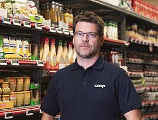 RYDDER: Det skal bli lettere å få oversikt i Coop Extra-butikkene, etter at flere varegrupper nå sorteres etter smak, ikke merke, sier Harald Kristiansen i Coop.