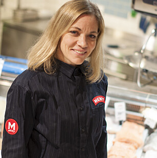 IKKE ØKT SVINN: Hos Meny har de ikke merket økte svinn fra butikker med selvbetjente kasser, forteller Nina Horn Hynne. Foto: Meny
